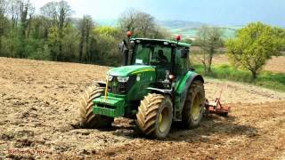 Subsoiling with John Deere 6140R - the Works!