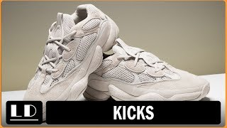 Adidas Yeezy 500 Desert Rat Blush! Ugly AF Or Genius?