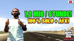 🤑Einfachster + Bester SOLO AFK Geld Glitch! 1,2 MIO Pro Stunde!🤑[GTA 5 Online/GEPATCHT!]