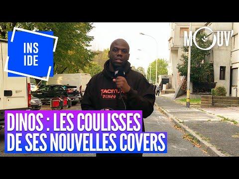 Youtube: DINOS: le making of des covers de son nouvel album!