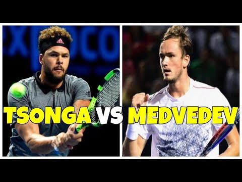 Jo-Wilfried Tsonga vs Daniil Medvedev | SF Brisbane 2019 Highlights