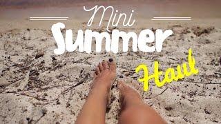Mini Summer Haul 2016   gina
