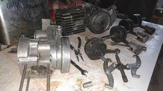 Babetta 207 - Polenie motora