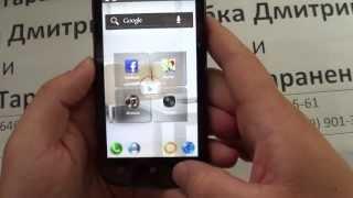 Видео обзор Lenovo A800 2-х ядерный IPS 4.5'' Android 4.1