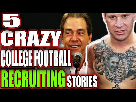 5 CRAZY College Football Recruiting Tactics That Actually Worked!!!