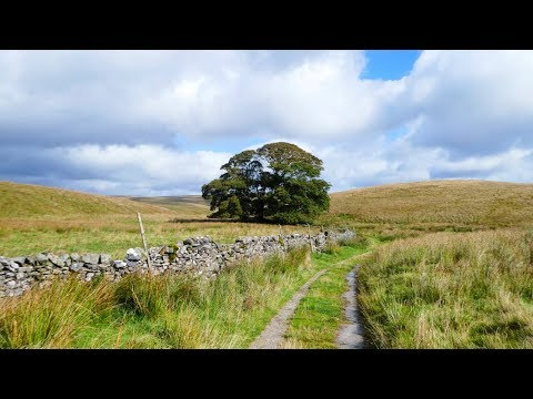 WALK THE MOON - One Foot (7 of 18) - Hiking the Pennine Way Trail - England & Scotland
