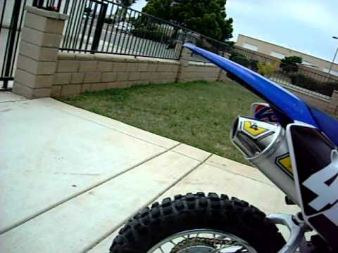 ttr 110 with pro circuit t 4 youtube