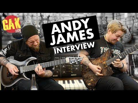 ANDY JAMES Interview W/Joss Allen   Boss GT1000