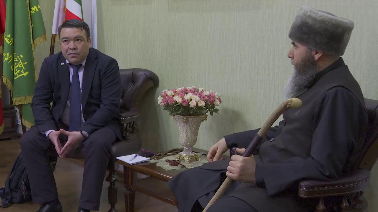 В ДУМ ЧР обсудили вопрос развития религиозного туризма между Чечней и Республикой Узбекистан