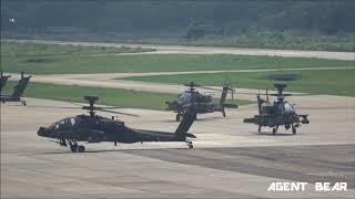 陸軍龍潭601旅AH64E阿帕契攻擊直升機第一作戰隊成軍