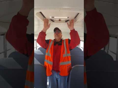 First Student Pre-trip & Air brakes test