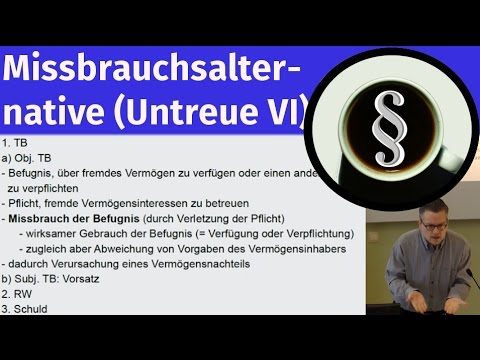 Missbrauchsalternative (Untreue VI)