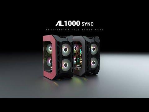 [ABKONCORE] AL1000 SYNC OPEN-DESIGN FULL TOWER CASE