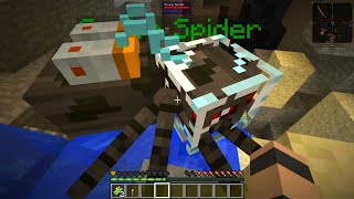 Etho's Modded Minecraft #23: Scuba Spider