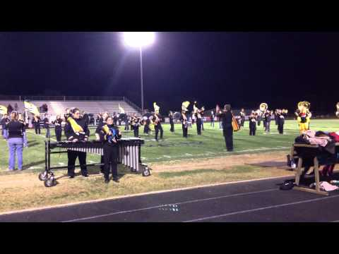 Woodward High School Band Party Rock Anthem 10/18/2012