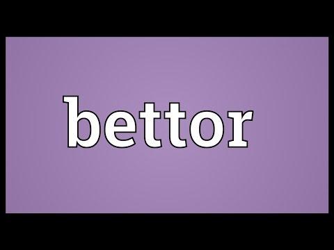 Header of bettor