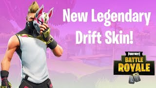 *NEW* DRIFT Skin Gameplay! - Fortnite Battle Royale