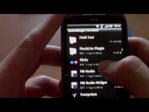 HTC Wildfire HTC Sense deaktivieren
