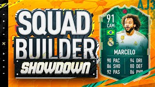 Fifa 20 Squad Builder Showdown!!! CAM SHAPESHIFTERS MARCELO!!! 91 Rated Position Change Marcelo
