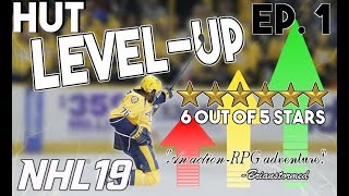 USING THE WORST TEAM TO GET TO THE BEST TEAM in NHL 19! | HUT Level-UP! Episode 1!