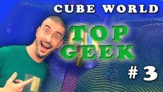 cube world ep 3 :  TOP GEEK והפעם עם נימרוד מ
