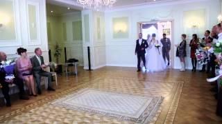 Синяя свадьба Рауфа и Кристины
