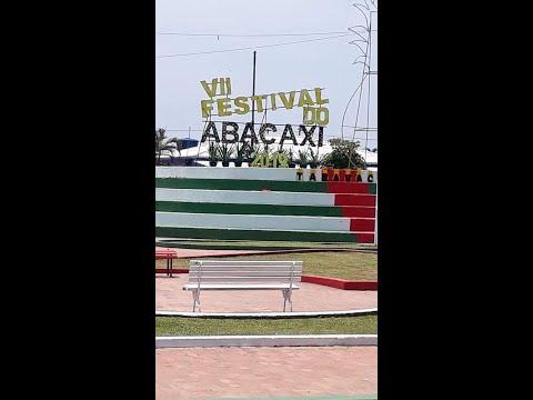 Festival do Abacaxi em Tarauaca