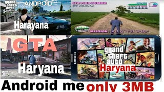 Gameplay and How To Download G.T.A Haryana only 6MB for Android