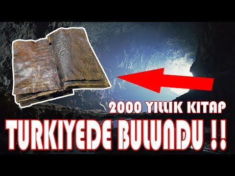 2000 YILLIK BARNABAS İNCİLİ TÜRKİYE`DE BULUNDU (MUTLAKA İZLEYİN)