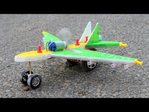 How To Make A Plane - Airplane - Make Your Own Creation