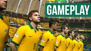 Video 2014 FIFA World Cup Brazil Gameplay - ENGLAND vs BRAZIL download MP3, 3GP, MP4, WEBM, AVI, FLV Juni 2017
