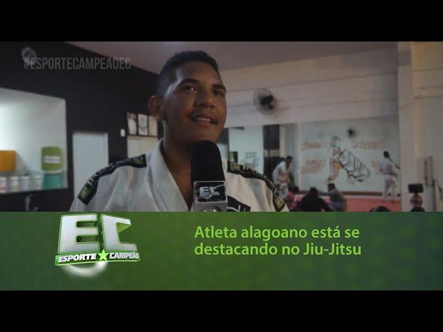 Conheça a história do atleta alagoano que está se destacando no Jiu-Jitsu