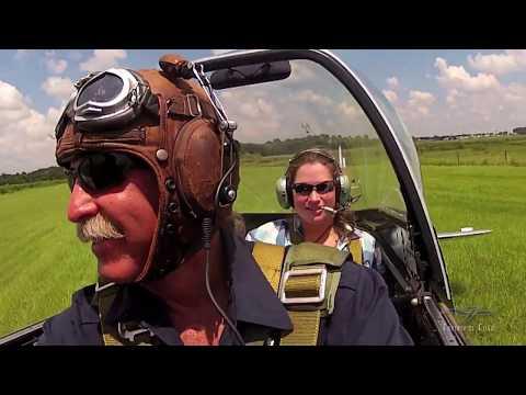 North American P-51D Flight - Sarah Rovner