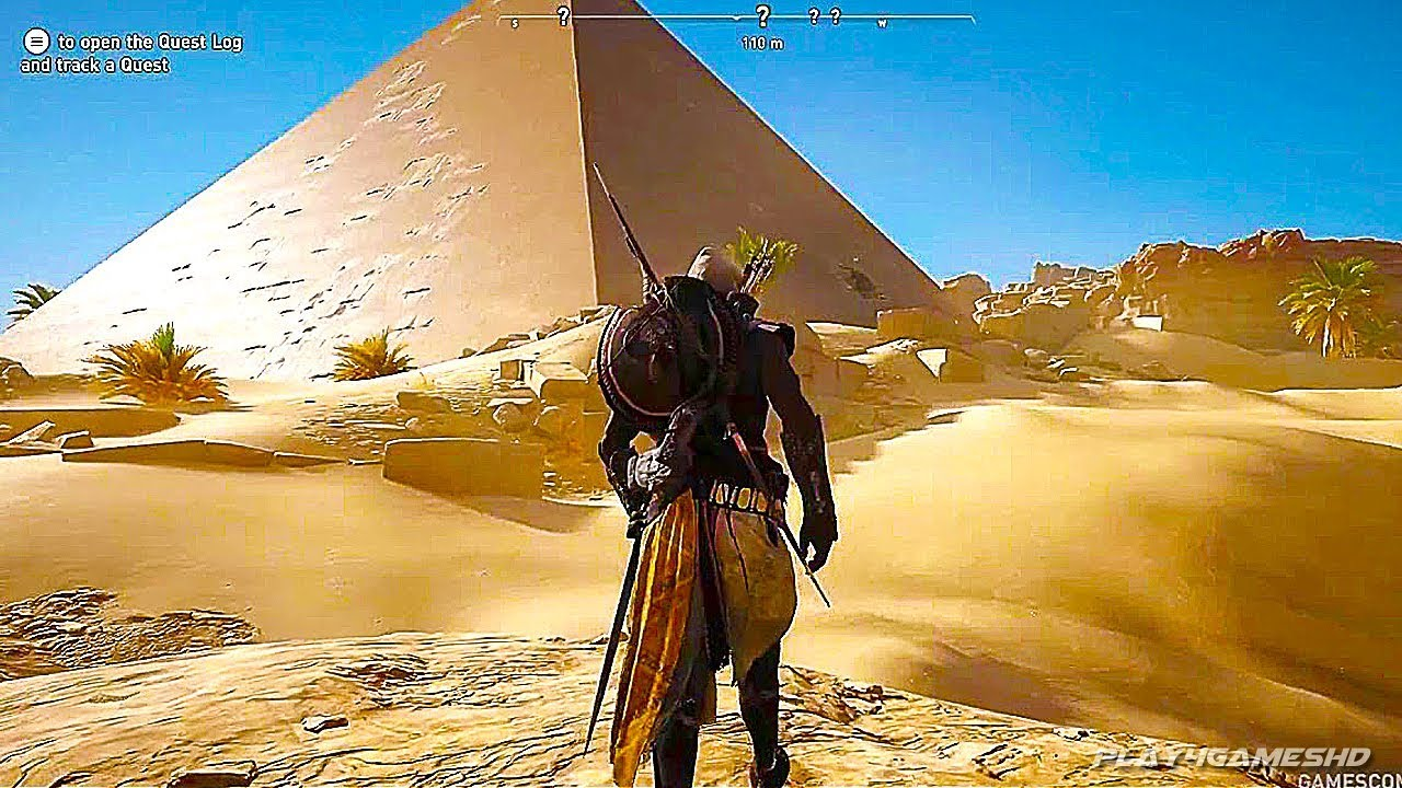 Hieroglyphs Assassins Creed Origins Hd Games 4k: NEW Gameplay Open World Egypt