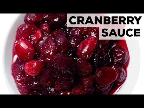 Perfect Cranberry Sauce | Food Network
