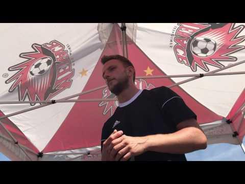 Interviewing Rakitic