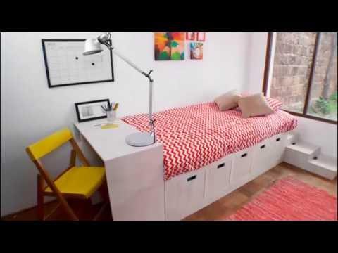 Muebles En Melamina Cama Y Camarote Youtube