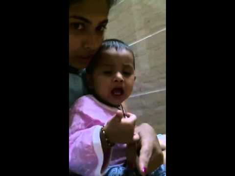 funny child learning marathi