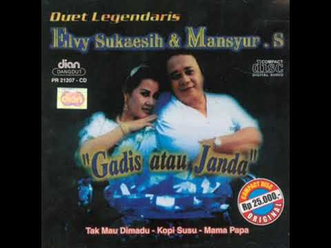 (FULL ALBUM) Mansyur S. & Elvy Sukaesih -Duet Legendaris (1999)