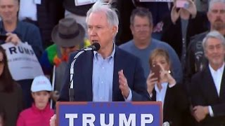 Jeff Sessions Endorses Donald Trump At Alabama Rally 02.28.2016  [FULL] Free HD Video