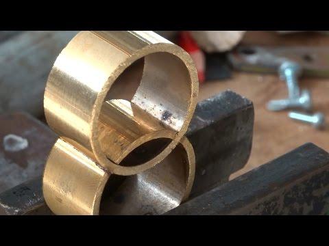Soldering brass, using vintage Barthel blowlamp