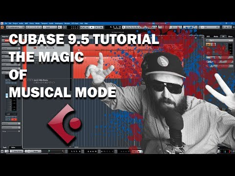Cubase 9.5 Tutorial – The Magic of Musical Mode