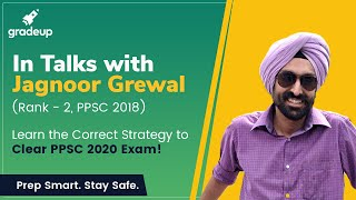 (Success Story) Jugnoor Grewal: Rank 2 in PPSC 2018. Know strategy to clear PPSC 2020 Exam