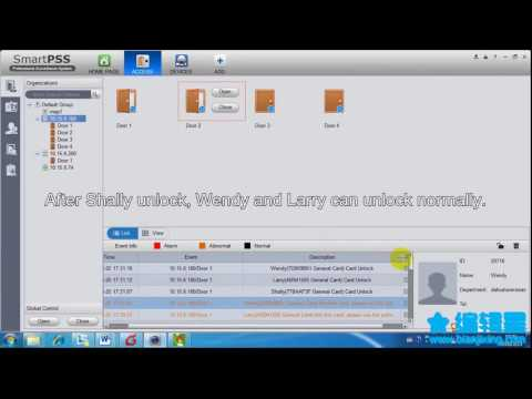 smartpss access control operation 5 30