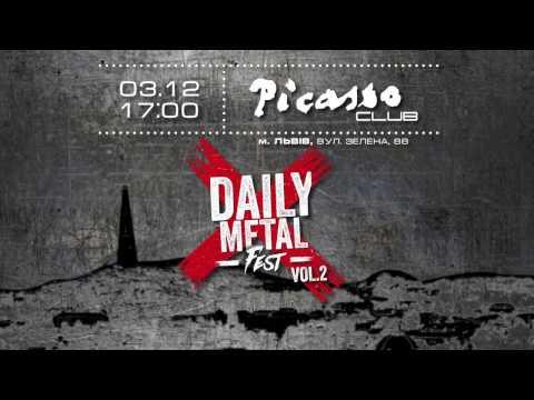 Daily Metal Fest vol.2: Lviv (official trailer)