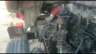 Установка импортного двигателя даф на камаз.