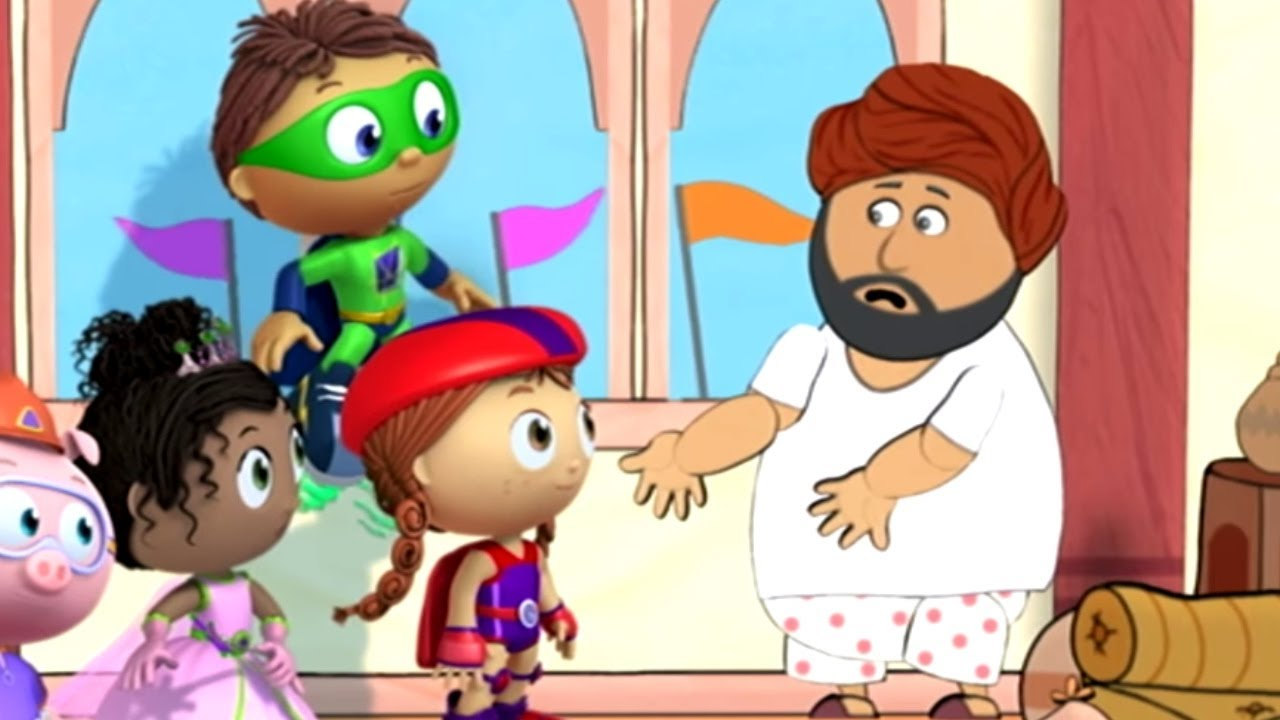 SUPER WHY! - THE EMPEROR'S NEW CLOTHES