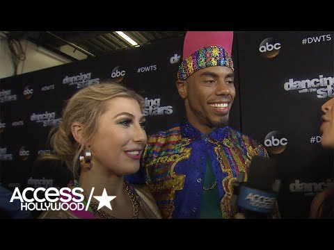 'DWTS': Rashad Jennings On The Possibility Of Winning The Mirrorball Trophy
