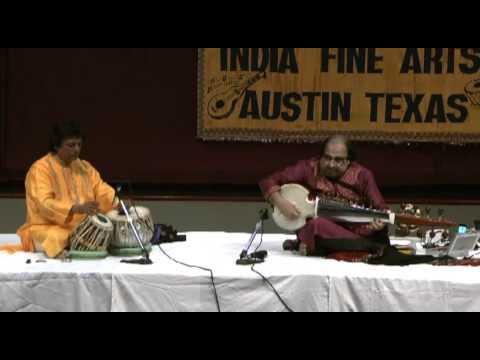 Pandit Swapan Chaudhuri accompanies Pandit Tejendra Majumdar Narayan