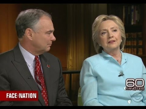 Hillary & Tim Kaine Shit The Bed In 60 Minutes Interview